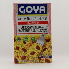 Goya Yellow Rice  and  Beans 7 oz