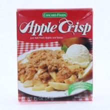 Concord Foods Apple Crisp 8.5 oz