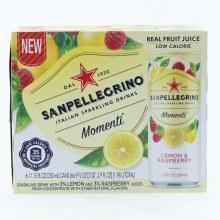 San Pellegrino Lemon & Raspberry Flavored Sparkling Drinks  66.9 oz
