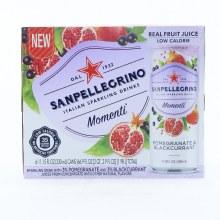 San Pellegrino Pomrgranate & Blackcurrant Sparkling Drinks 66.9 oz