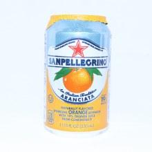 San Pellegrino Aranciata, Sparkling Orange Flavored, 11.15 oz 1.15 oz