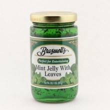 Braswells mint jelly 10.5 oz