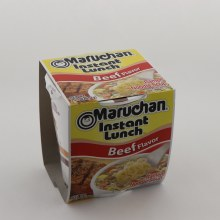 Maruchan Inst Lunch Beef