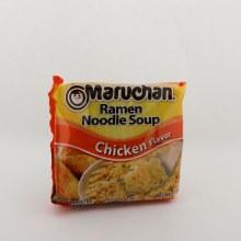 Maruchan Ramen Noodle Soup Chicken Flavor Cooks In 3 Minutes
