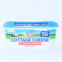 Deans Cottage Cheese 4Per Cent Milk Fat Minimum Small Curd 16oz