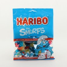 Haribo The Smurfs Gummi Candy Natural And Artificial Fruit Flavors