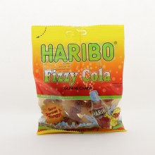 Haribo Fizzy Cola Gummi Candy, Sour, Sweet, & Tangy, Natural And Artificial Fruit Flavors 5 oz