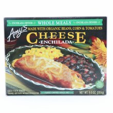 Amys Enchilada Cheese made with Organic Beans Corn  and  Tomatoes Gluten Free
