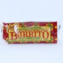 Amys Organic Corn Beans and Cheese Burrito Southwesten 5.5 oz