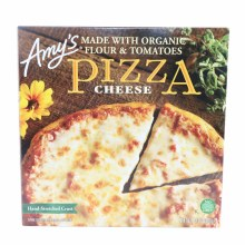 Amys Cheese Pizza made with Organic Flour  and  Tomatoes No GMOs 13 oz