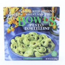 Amy's pesto tortellini bowl 9.5 oz