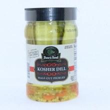 Boars Head Kosher Dill Half Cut Pickles