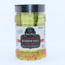 Bh Kosher Dill Half Cut