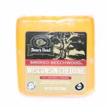 Boar's Head Smoked Beechwood Wisconsin Cheddar Cheese 8 oz