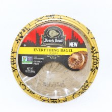 Boar's Head Everything Bagel Hummus 8 oz
