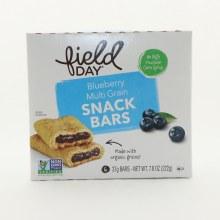 Fiels Blueber Snack Bars