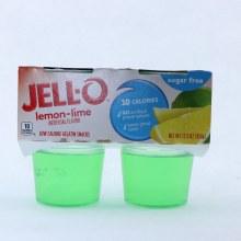 Jello Lemon Lime Gelatin 10 Calories Sugar Free No Artificial Preservatives Same Great Taste 4 Cups 12.5 oz