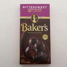 Bakers Bittersweet Chocolate