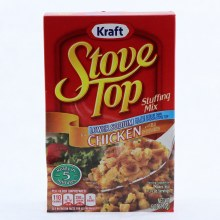 Kraft Stove Top Stuffing Mix Chicken with Real Chicken Broth Lower Sodium 6 oz