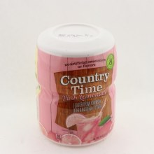 Country Time Pink Lemonade  and  No Caffeine