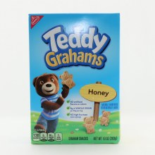 Nabisco Honey Teddy Grahams No Artificial Flavors or Colors No High Fructose Corn Syrup