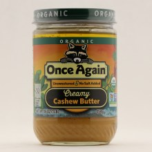 Once Again Creamy Cashew Butter 16 oz