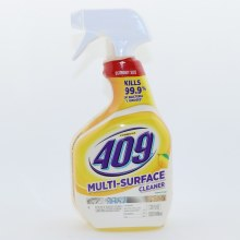 Formula 409 Multi Surface Cleaner Kills 99.9Per Cent of Bacteria  and  Viruses Lemon Fresh Scented