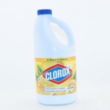 Clorox Lemon Fresh Bleach For Standard HE Machines Cleans  and  Protects Surfaces Keeps Clothes Whiter Longer