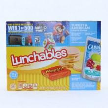 Lunchables American turkey 6 oz