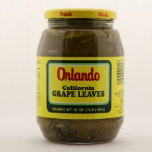 Orlando Grape Leaves Drained