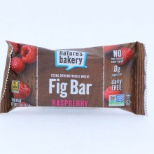 Natures Bakery Raspberry Fig Bar No High Fructose Corn Syrup 0g of Trans Fat and Dairy Free