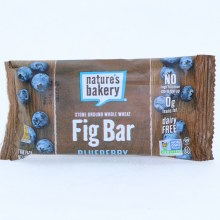 Natures Bakery Blueberry Fig Bar No High Fructose Corn Syrup 0g Trans Fat Dairy Free and Vegan