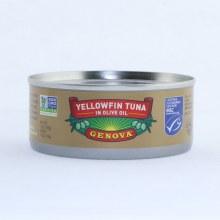 Genova Yellowfin Tuna in Olive Oil Non GMO