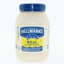Hellmanns Mayo Plastic