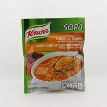 Knorr sopa de letras 3.5 oz