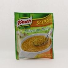 Knorr fideo de pollo instant 3.5 oz