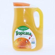 Tropicana 100Per Cent Orange Juice Some Pulp. 89 fl oz.