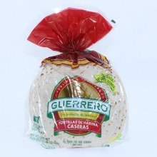 Guerrero Tortillas de Harina Caseras 10 Soft Taco Flour Tortillas