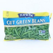 Flav-R-Pac Frozen Cut Green Beans 12 oz
