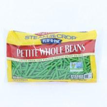 Flav-R-Pac Frozen Petite Whole Beans Non-GMO 12oz 12 oz