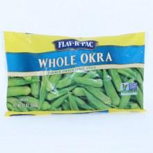 Flav-R-Pac Frozen Whole Okra 12 oz