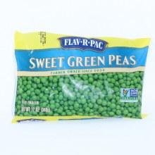 FlavRPac Frozen Sweet Green Peas 12 oz