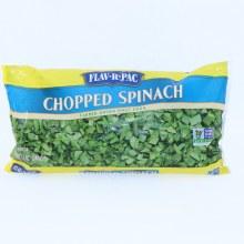 Flav-R-Pac Frozen Chopped Spinach 12 oz