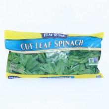 Flav-R-Pac Cut Leaf Spinach 12 oz