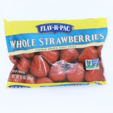 Flav-R-Pac Frozen Whole Strawberries