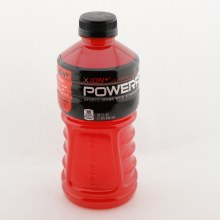 Powerade Fruit Punch Sports Drink With Vitamins B3 B6  and  B2 Sodium With Potassium Calcium  and  Magnesium