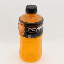 Powerade Orange Flavored Sports Drink Contains Sodium Potassium Calcium and Magnesium