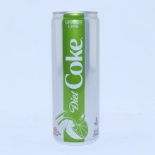 Diet Coke  Ginger Lime Flavor  12 FL. oz