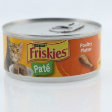 Purina Friskies Pate Cat Food  Poultry Platter  100Per Cent Complete  and  Balanced Nutrition for Adult Cats and Kittens