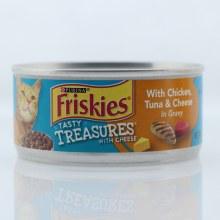 Friskies Ckn/tuna/cheese